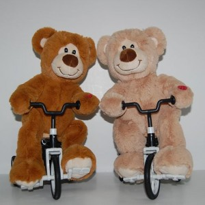 You'd be amazed at how many pictures there are of teddy bears riding bikes.