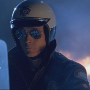 T 1000 Terminator This is Terminator T1000. While he wears aviators, he also wears a ...
