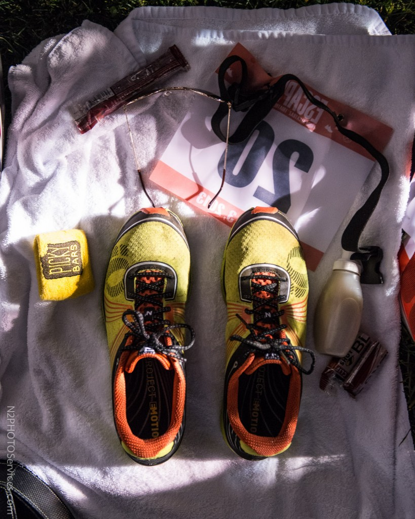 All the necessities ready to go. (Thanks Nils at N2 Photo).