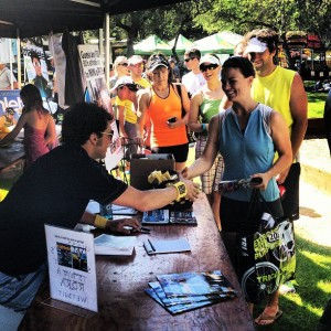 I love meeting peeps at the races! Huge thanks to everyone that showed up to the Triathlete Magazine signing on Friday!
