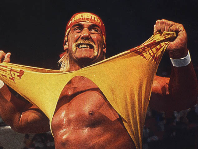 I bet there were times when Hulk Hogan didn't really feel like wrestling, but he did it anyway, because he was a professional wrestler.
