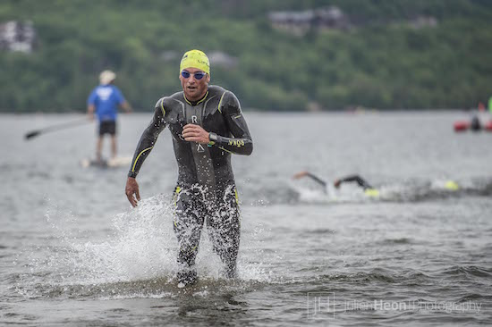 If all swims involved this much running, I'd be a better swimmer. Thx Julien Heon for the photo!