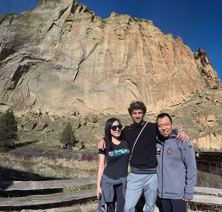 Johnny, Catherine, and I kicked off the partnership this January at Smith Rock outside of Bend. Very excited to work with these guys for the next three years!